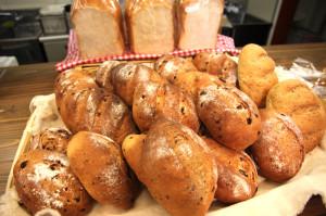 パンと焼き菓子工房「粉布」のパン(※土日のみ喫茶コーナーで限定販売 ※冬期(〜3月中旬)は販売しておりません)